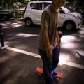 8.16 スケートボードとシュシュ